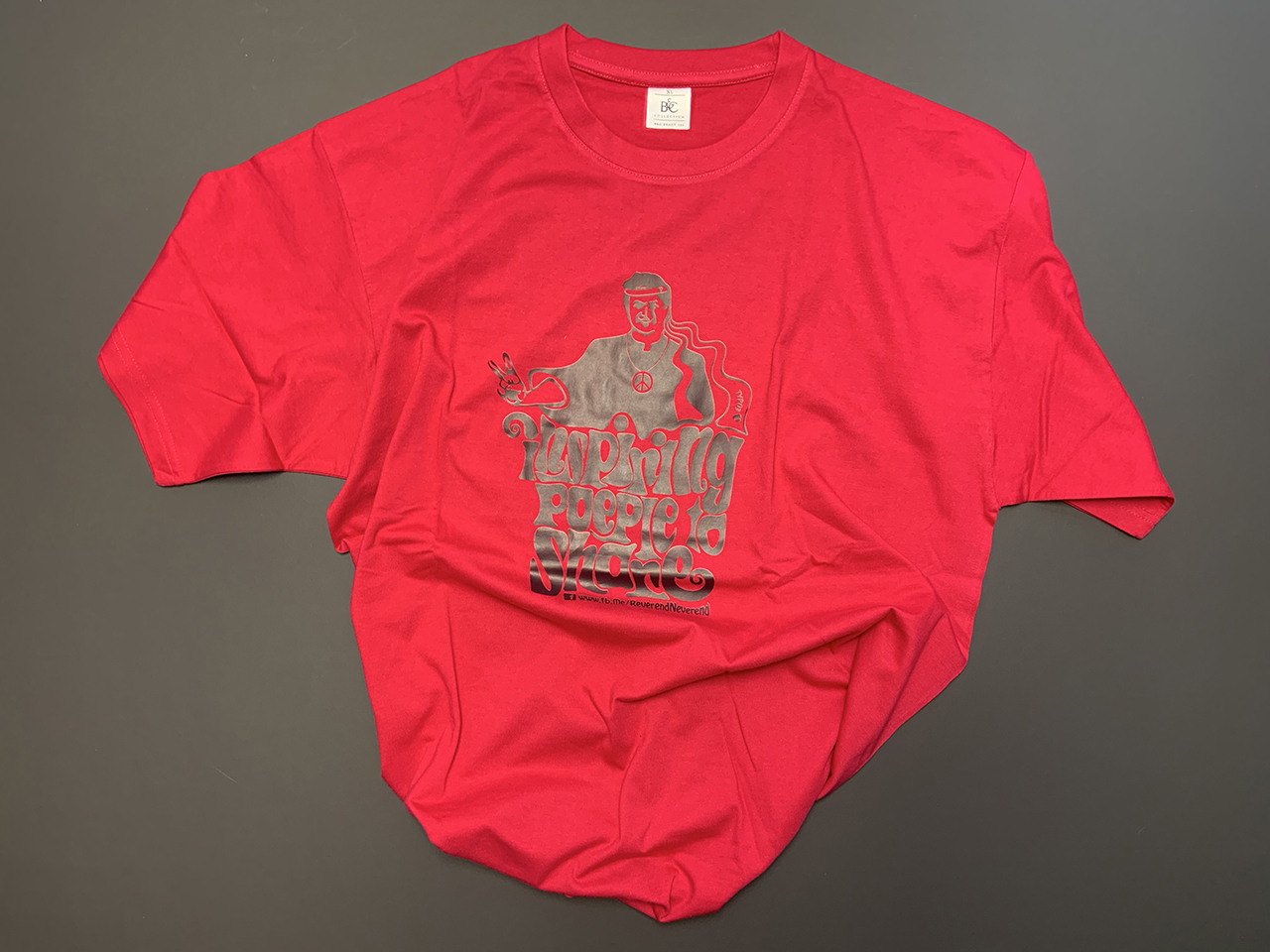 "Pinkes ""Inspiring People to Share""-Shirt"
