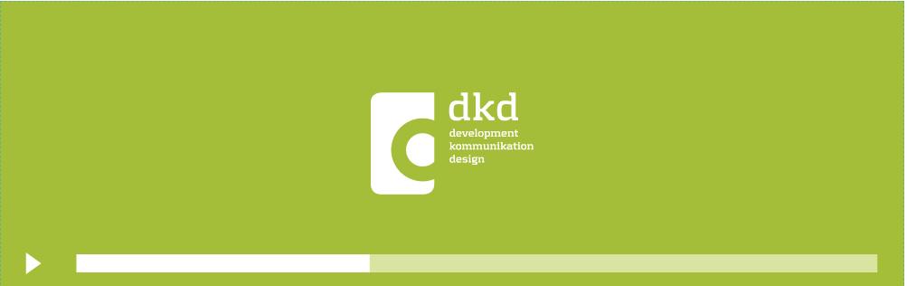 dkd-Logo auf grünem Hintergrund